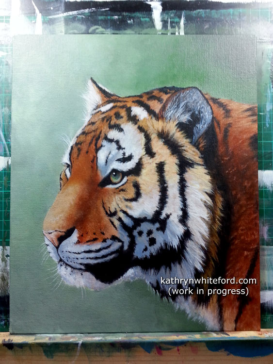 Tiger Painting - Dreamer