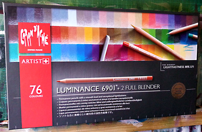 Caran d'Ache Luminance Colour Pencils