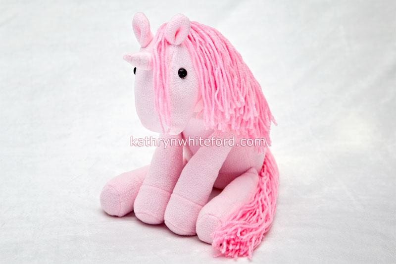 Pink Plushie Unicorn