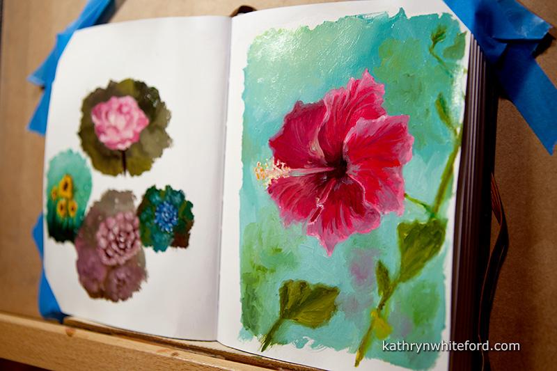 Flowers in Oils